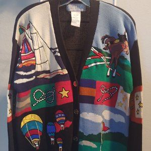 Lizy Ruch fun all Sports oversized Cardigan sizeM